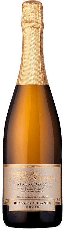 CONDE DE CANTANHEDE - Sparkling Wine Blanc de Blancs Brut 0