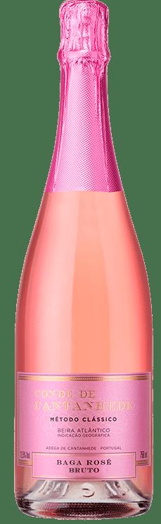 CONDE DE CANTANHEDE - Espumante Baga Rosé 0