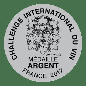Challenge International du Vin Silver 2017 0