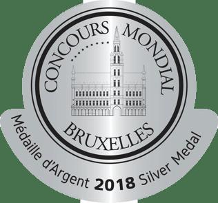 Concours  Mondial Bruxelles silver 2018 0