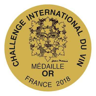 Challenge International  du Vin Gold 2018 0