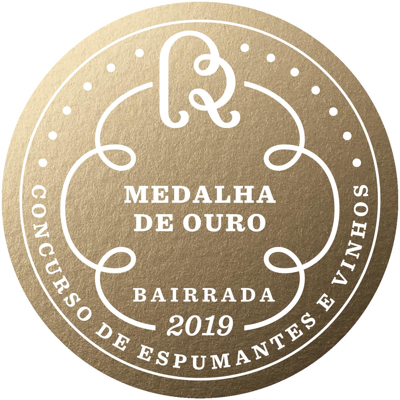 Concurso Vinhos da Bairrada Gold 2019 0
