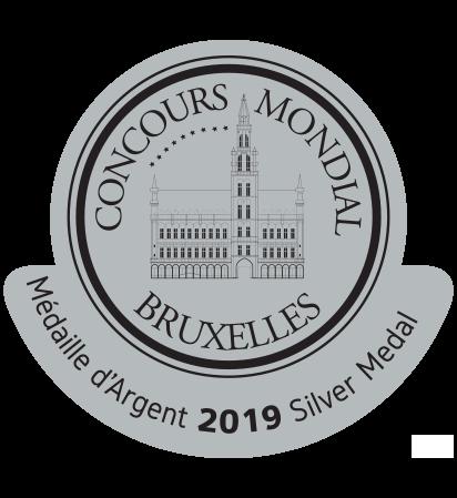 Concours Mondial de Bruxelles Silver 2019 0